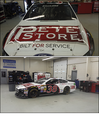 The Pete Store Returns to Front Row Motorsports at the 'Monster Mile'