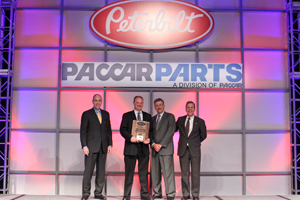 The Pete Store's Steve Farrow named Peterbilt Service Manager of the Year