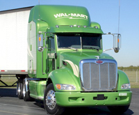 The Pete Store Delivers the industry's first Class 8 Hybrid truck to Wal-Mart Stores, Inc.